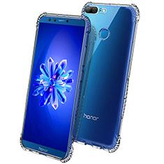 Cover Silicone Trasparente Ultra Sottile Morbida T09 per Huawei Honor 9 Lite Chiaro