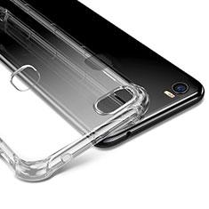 Cover Silicone Trasparente Ultra Sottile Morbida T09 per Huawei Honor V8 Max Chiaro