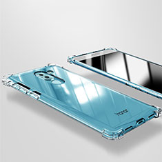 Cover Silicone Trasparente Ultra Sottile Morbida T09 per Huawei Mate 9 Lite Chiaro