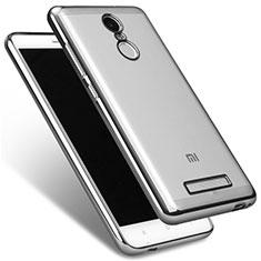 Cover Silicone Trasparente Ultra Sottile Morbida T09 per Xiaomi Redmi Note 3 Chiaro