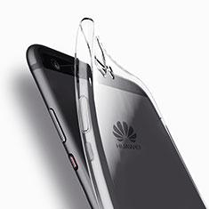 Cover Silicone Trasparente Ultra Sottile Morbida T11 per Huawei P10 Plus Chiaro