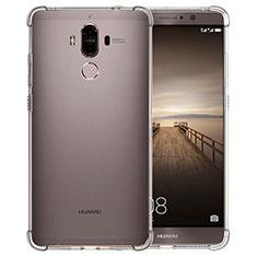 Cover Silicone Trasparente Ultra Sottile Morbida T12 per Huawei Mate 9 Chiaro