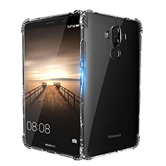 Cover Silicone Trasparente Ultra Sottile Morbida T14 per Huawei Mate 9 Chiaro
