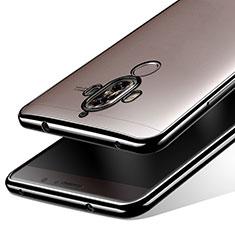 Cover Silicone Trasparente Ultra Sottile Morbida T15 per Huawei Mate 9 Nero