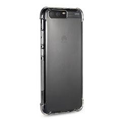 Cover Silicone Trasparente Ultra Sottile Morbida T15 per Huawei P10 Plus Chiaro