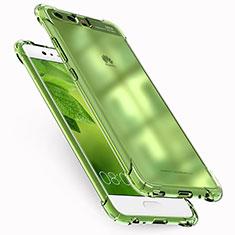 Cover Silicone Trasparente Ultra Sottile Morbida T17 per Huawei P10 Chiaro