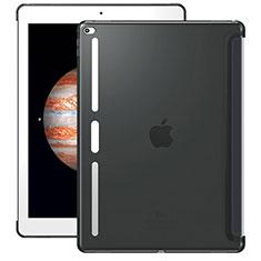 Cover Silicone Trasparente Ultra Sottile Morbida Z01 per Apple iPad Pro 12.9 Grigio