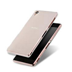 Cover Silicone Ultra Sottile Morbida Opaca per Sony Xperia Z3 Bianco