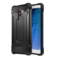 Cover Silicone Ultra Sottile Morbida Opaca per Xiaomi Pocophone F1 Nero