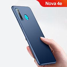 Cover Silicone Ultra Sottile Morbida per Huawei Nova 4e Blu