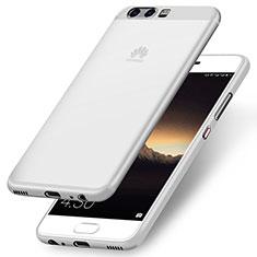 Cover Silicone Ultra Sottile Morbida per Huawei P10 Bianco