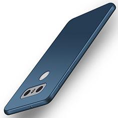 Cover Silicone Ultra Sottile Morbida per LG G6 Blu