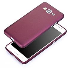 Cover Silicone Ultra Sottile Morbida per Samsung Galaxy Grand Prime 4G G531F Duos TV Viola