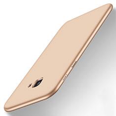 Cover Silicone Ultra Sottile Morbida per Samsung Galaxy J7 Prime Oro