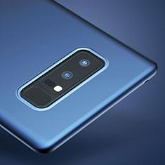 Cover Silicone Ultra Sottile Morbida per Samsung Galaxy Note 8 Duos N950F Blu