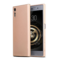 Cover Silicone Ultra Sottile Morbida per Sony Xperia XZs Oro