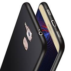 Cover Silicone Ultra Sottile Morbida S02 per Huawei G9 Plus Nero