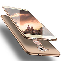 Cover Silicone Ultra Sottile Morbida S02 per Huawei G9 Plus Oro