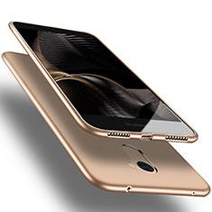 Cover Silicone Ultra Sottile Morbida S03 per Huawei Enjoy 7 Plus Oro