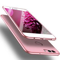 Cover Silicone Ultra Sottile Morbida S03 per Huawei Nova 2 Plus Rosa