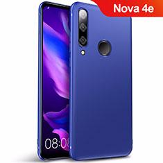 Cover Silicone Ultra Sottile Morbida S03 per Huawei Nova 4e Blu
