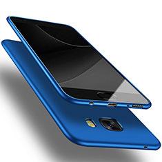 Cover Silicone Ultra Sottile Morbida S03 per Samsung Galaxy C9 Pro C9000 Blu