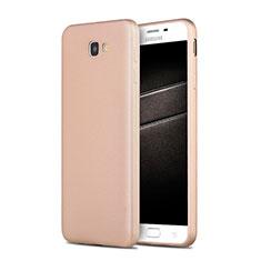 Cover Silicone Ultra Sottile Morbida S03 per Samsung Galaxy J7 Prime Oro