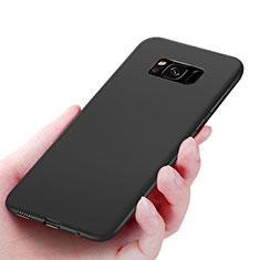 Cover Silicone Ultra Sottile Morbida S06 per Samsung Galaxy S8 Nero