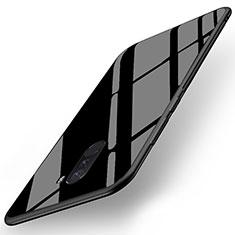 Cover Silicone Ultra Sottile Morbida Specchio per Xiaomi Pocophone F1 Nero
