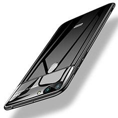 Cover Silicone Ultra Sottile Morbida Specchio per Xiaomi Redmi 6 Nero
