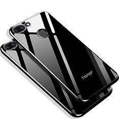 Cover Silicone Ultra Sottile Morbida Specchio Q01 per Huawei Honor 9 Lite Nero
