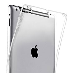 Cover TPU Trasparente Ultra Slim Morbida per Apple iPad 2 Chiaro