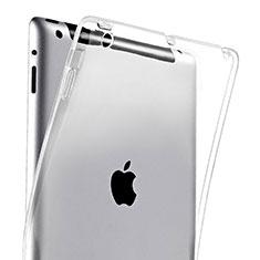 Cover TPU Trasparente Ultra Slim Morbida per Apple iPad 3 Chiaro