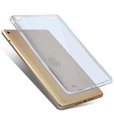Cover TPU Trasparente Ultra Sottile Morbida per Apple iPad Mini 4 Blu