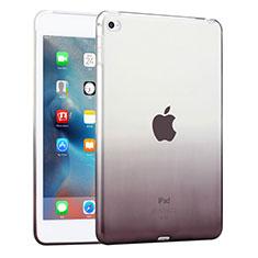 Cover TPU Trasparente Ultra Sottile Morbida per Apple iPad Mini 4 Grigio