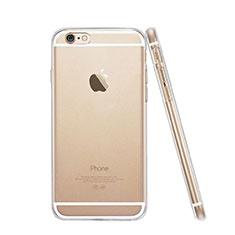 Cover TPU Trasparente Ultra Sottile Morbida per Apple iPhone 6 Plus Chiaro