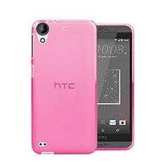 Cover TPU Trasparente Ultra Sottile Morbida per HTC Desire 630 Rosa