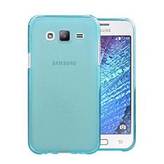 Cover TPU Trasparente Ultra Sottile Morbida per Samsung Galaxy J5 SM-J500F Cielo Blu