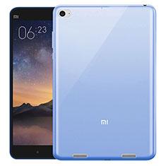 Cover TPU Trasparente Ultra Sottile Morbida per Xiaomi Mi Pad 3 Blu