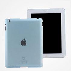 Cover Ultra Slim Trasparente Rigida Opaca per Apple iPad 3 Cielo Blu