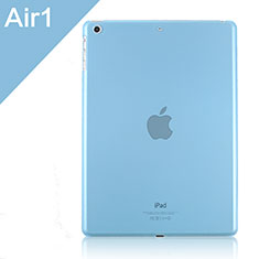 Cover Ultra Slim Trasparente Rigida Opaca per Apple iPad Air Cielo Blu