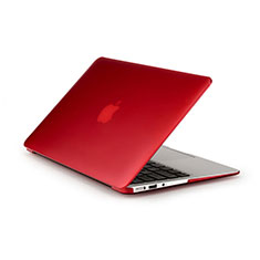 Cover Ultra Slim Trasparente Rigida Opaca per Apple MacBook Air 11 pollici Rosso