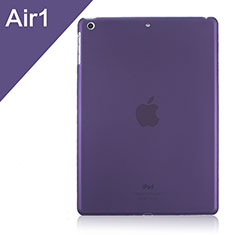 Cover Ultra Sottile Trasparente Rigida Opaca per Apple iPad Air Viola