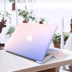 Cover Ultra Sottile Trasparente Rigida Opaca per Apple MacBook Air 13 pollici.3 (2018) Blu