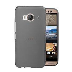 Cover Ultra Sottile Trasparente Rigida Opaca per HTC One Me Grigio
