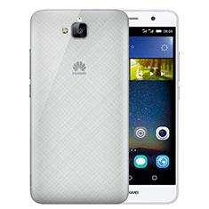 Cover Ultra Sottile Trasparente Rigida Opaca per Huawei Enjoy 5 Grigio