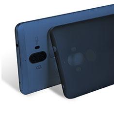 Cover Ultra Sottile Trasparente Rigida Opaca per Huawei Mate 9 Blu