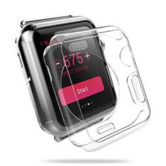Custodia Crystal Trasparente Rigida per Apple iWatch 3 42mm Chiaro