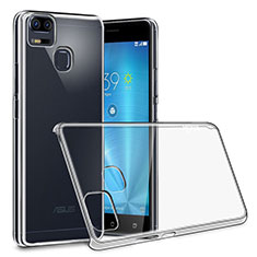 Custodia Crystal Trasparente Rigida per Asus Zenfone 3 Zoom Chiaro