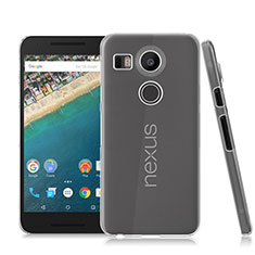 Custodia Crystal Trasparente Rigida per Google Nexus 5X Chiaro